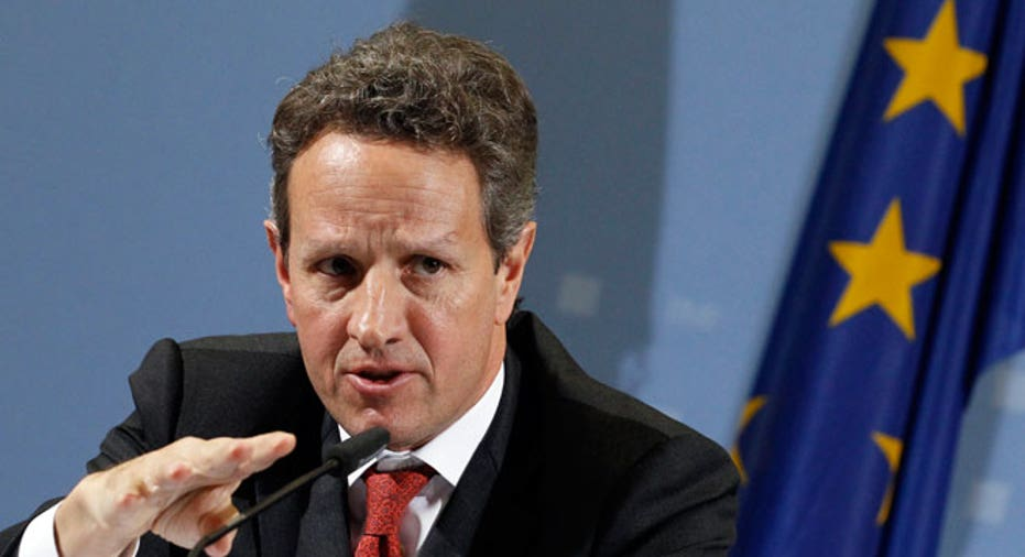 Geithner US Treasury Secretary, EU