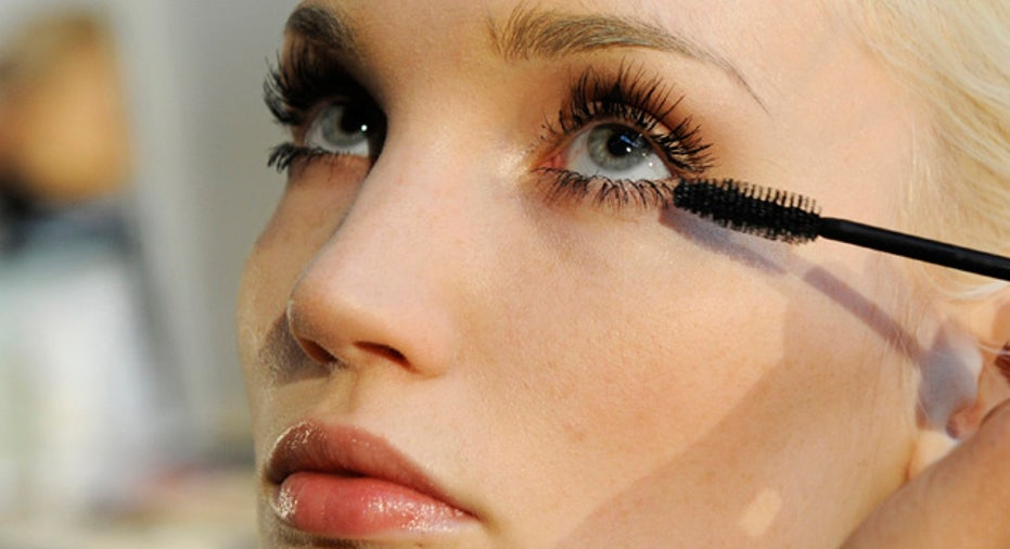 model wearing makeup