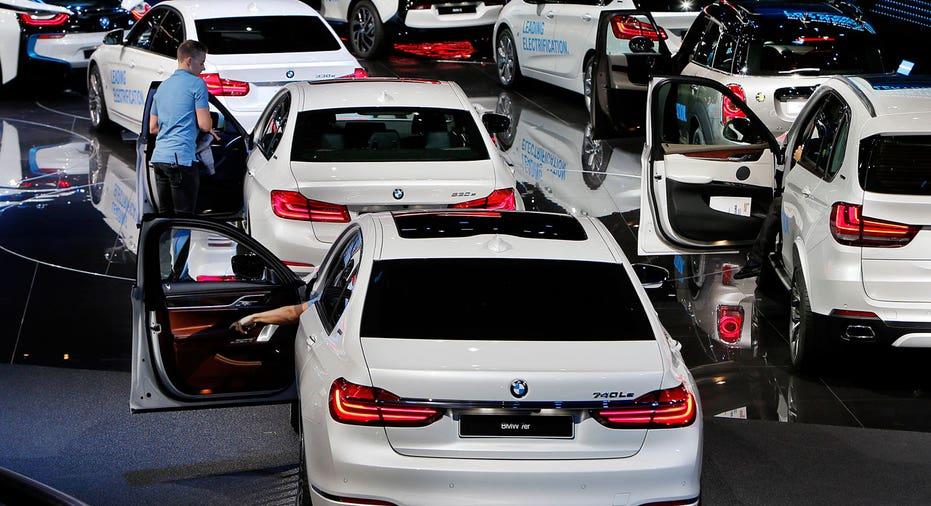 BMW cars at 2017 Frankfurt auto show AP FBN