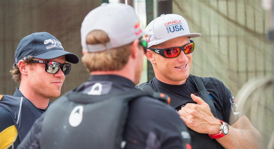 Team Oracle USA Skippered by James Spithill