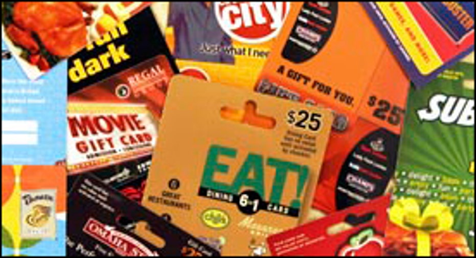 Gift Cards Variety