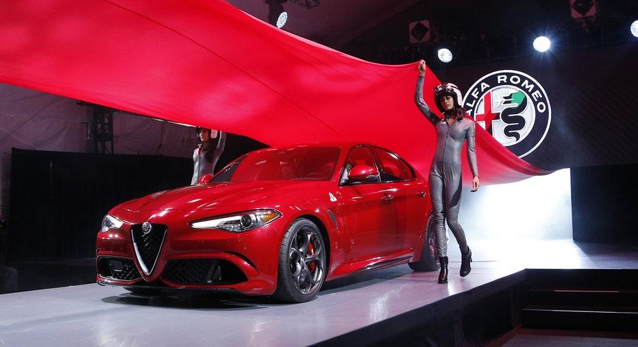 Alfa Romeo Giulia, Fiat Chrysler, FCA