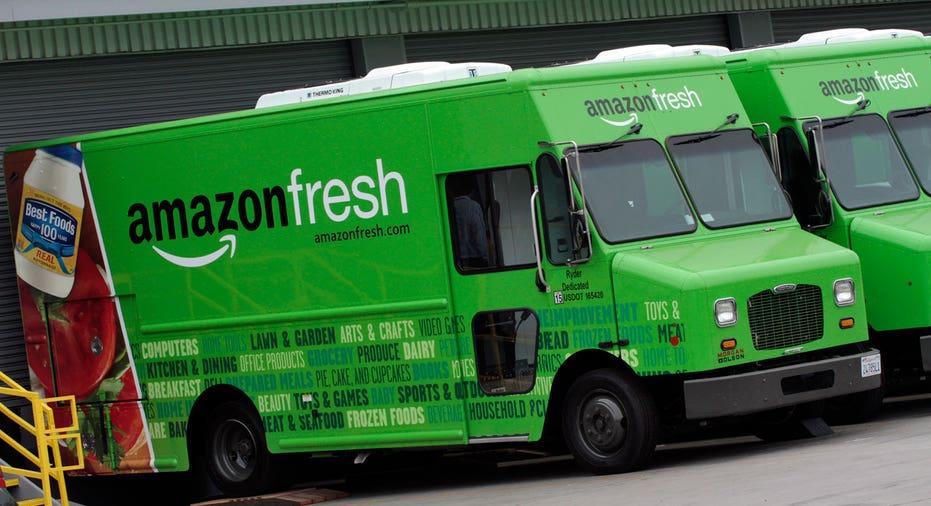 Amazon Fresh  Reuters Jonathan Alcorn