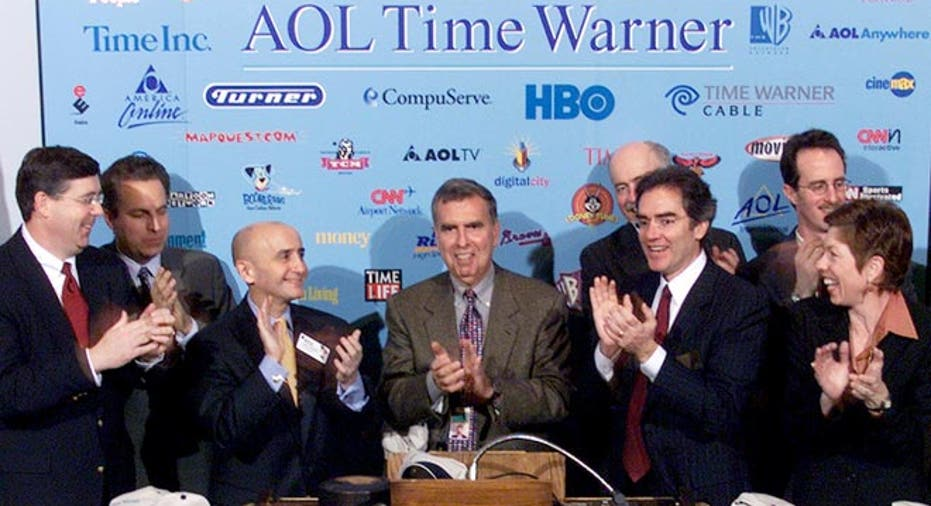AOL Time Warner merger