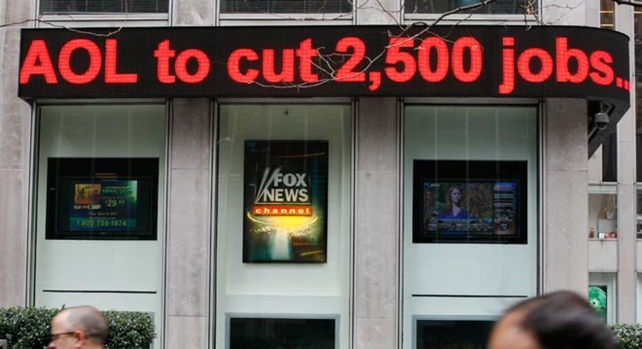 AOL Time Warner jobs cut