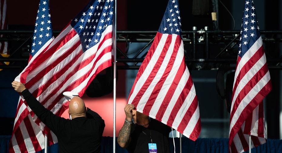 flag, american flag, election, FBN