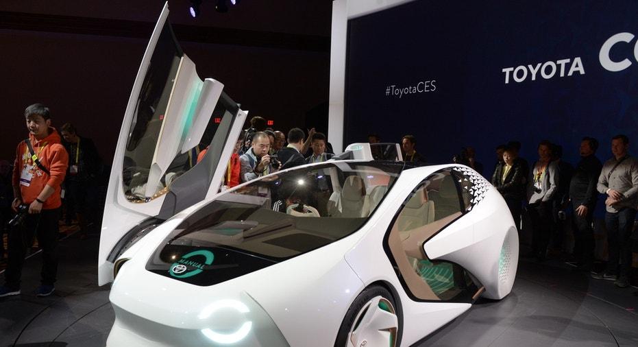 Toyota Self Driving Car FBN