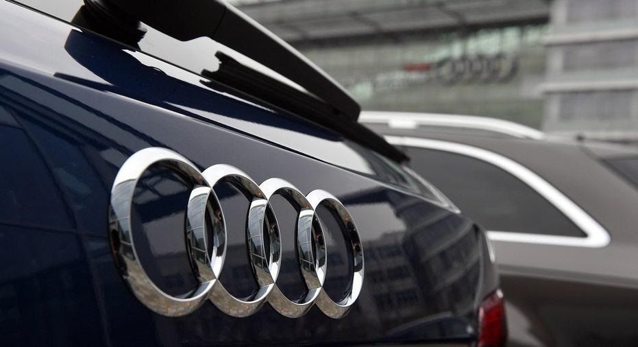 Audi logo on car FBN