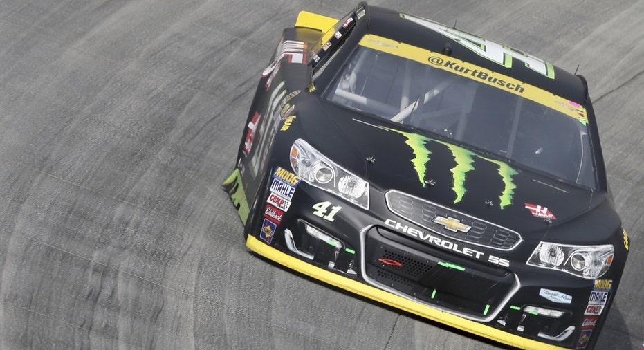 NASCAR Monster Energy Kurt Busch car 2017 FBN