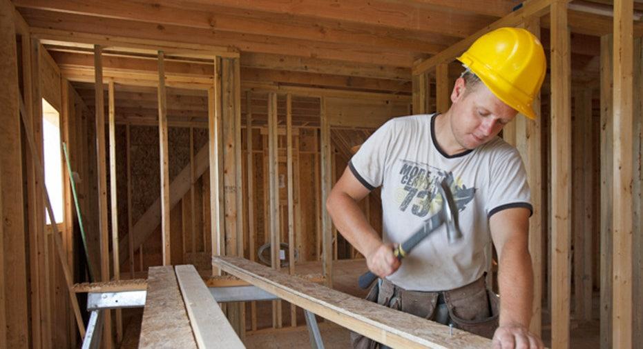 Carpenter Working on Building 02