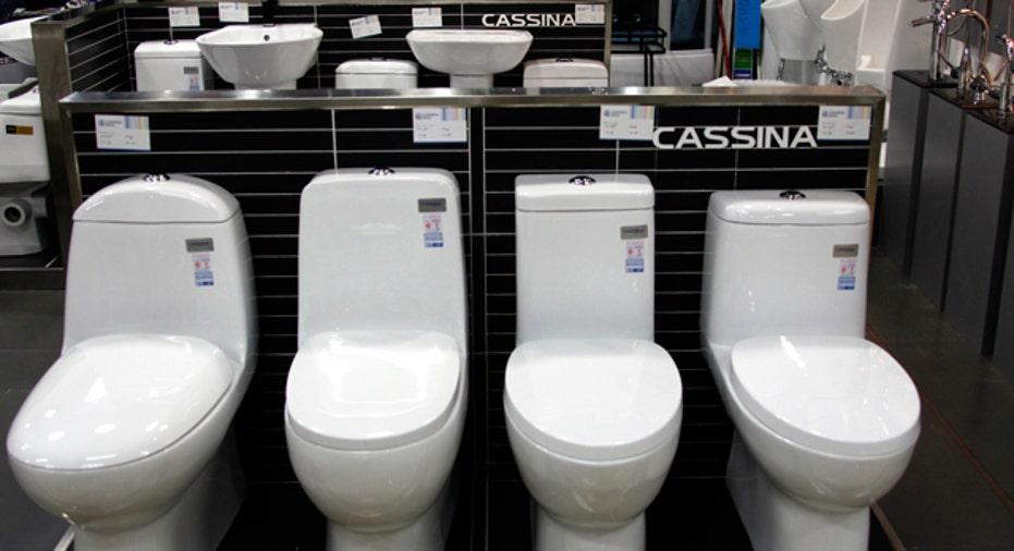 Bathroom Appliances, Toilets, Sinks