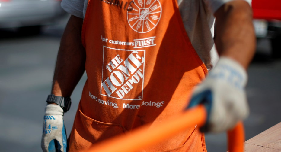 Home Depot worker apron FBN