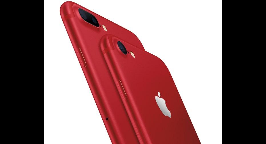 Apple iPhone Red fbn