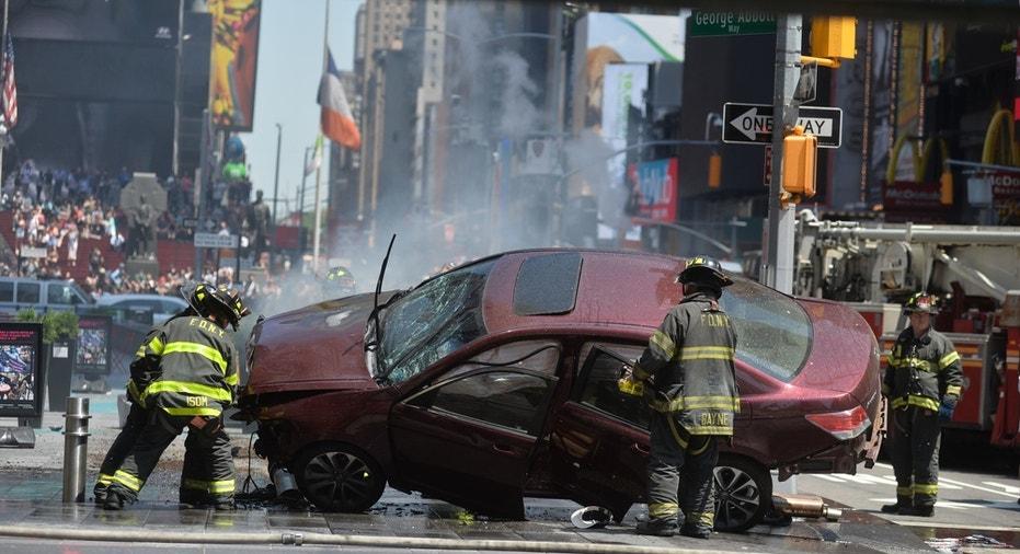 Times Square Crash FBN
