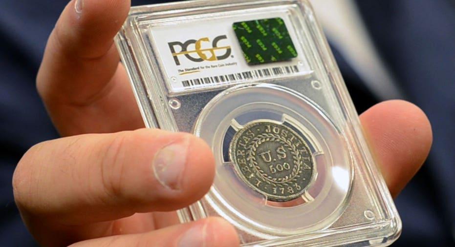 Alexander Hamilton coin FBN AP
