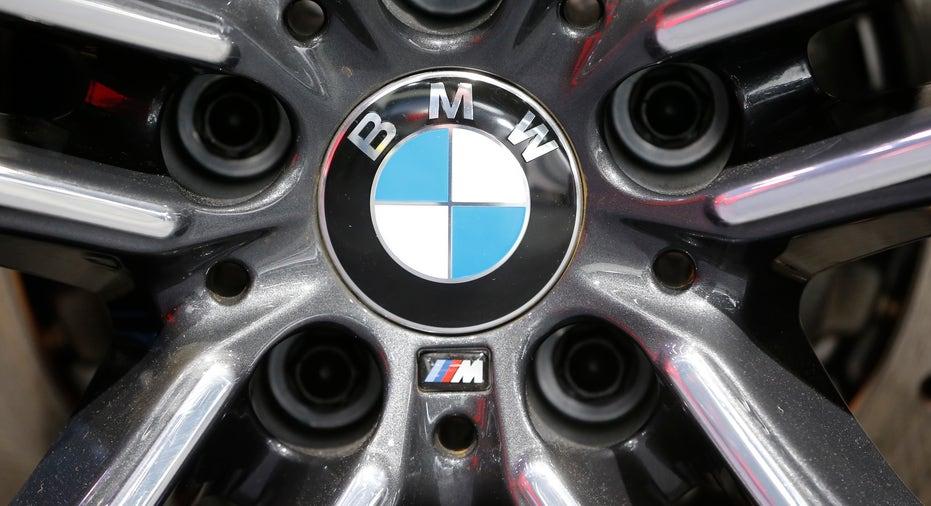 BMW logo on wheel FBN