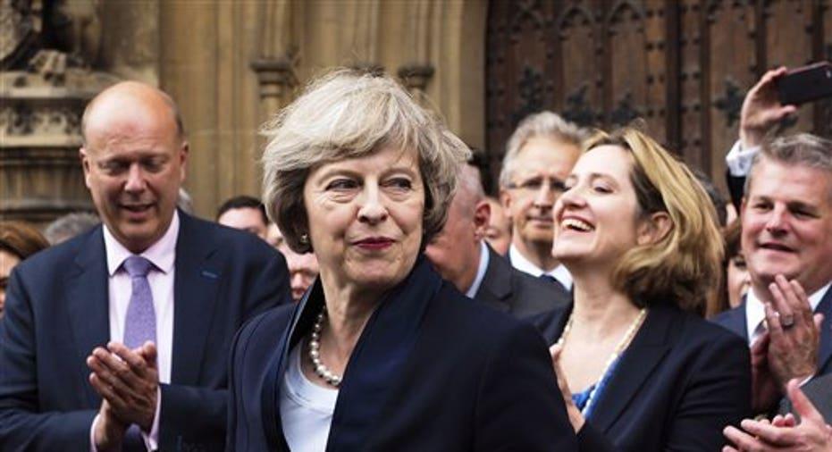 Britain Theresa May