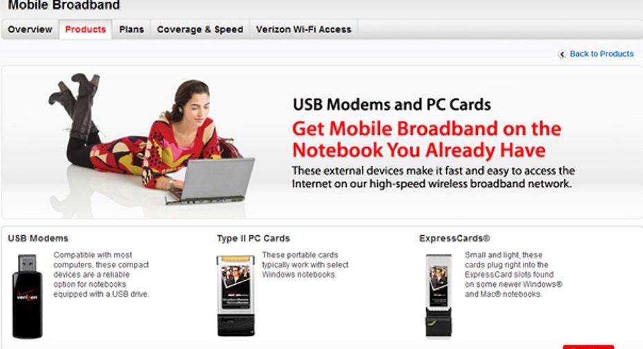 Broadband Wireless Card