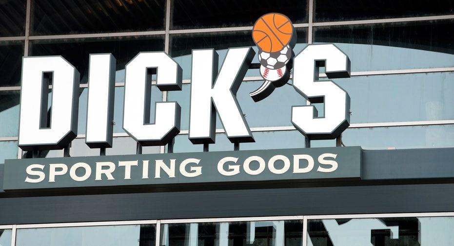Dick's Sporting Goods store sign FBN