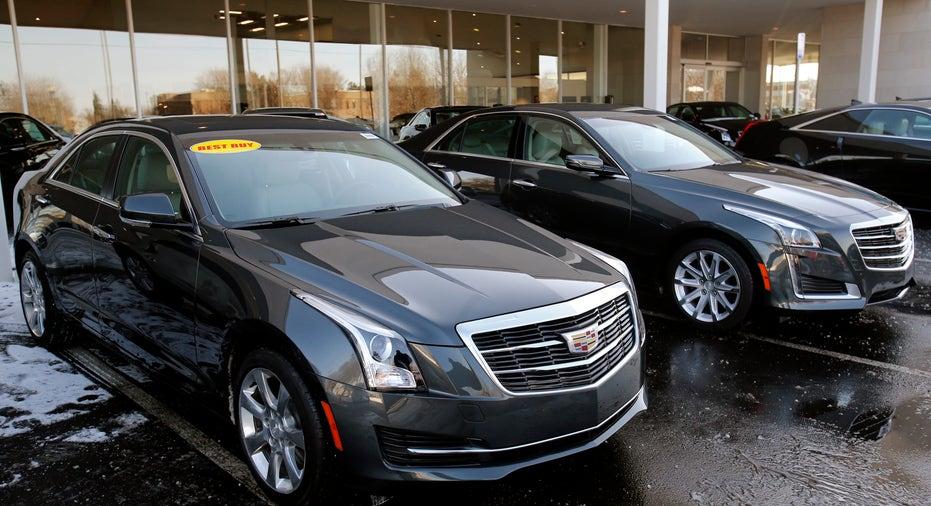 Cadillac dealer and ATS sedan FBN