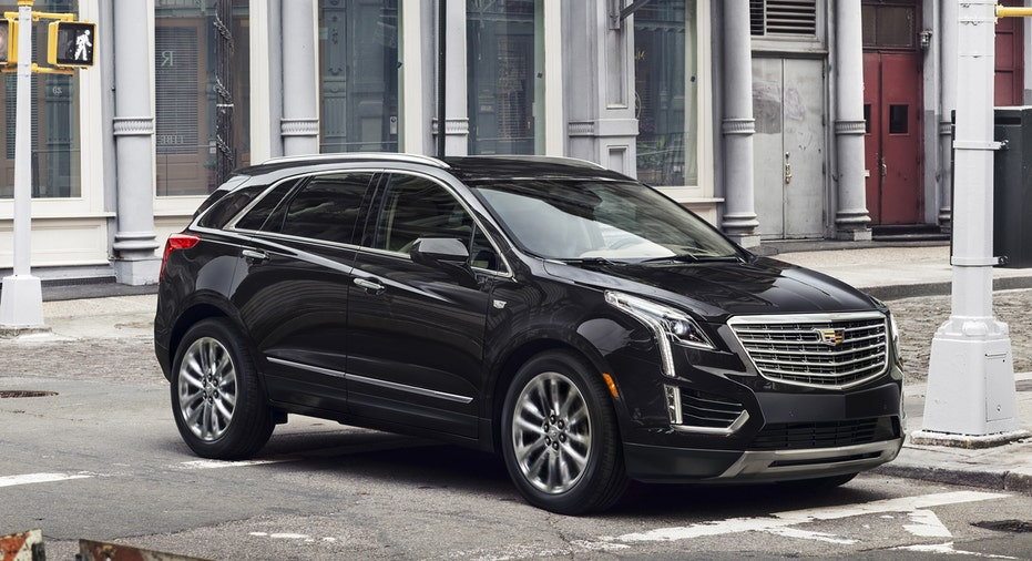 2017 Cadillac XT5 crossover, SUV, cars, General Motors, GM