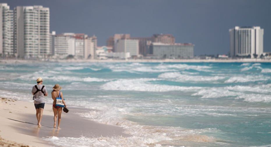 cancun mexico beach reuters