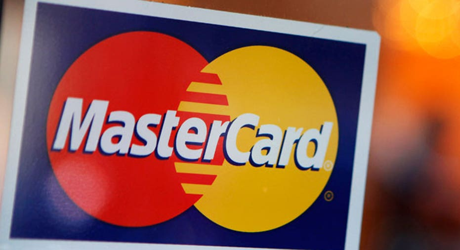 MasterCard Logo in a Store Window
