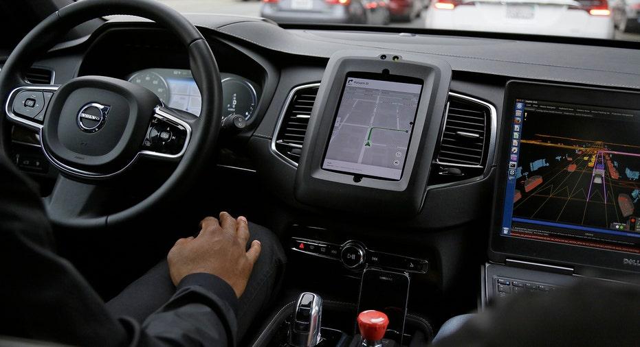 Uber Self Driving Car AP FBN