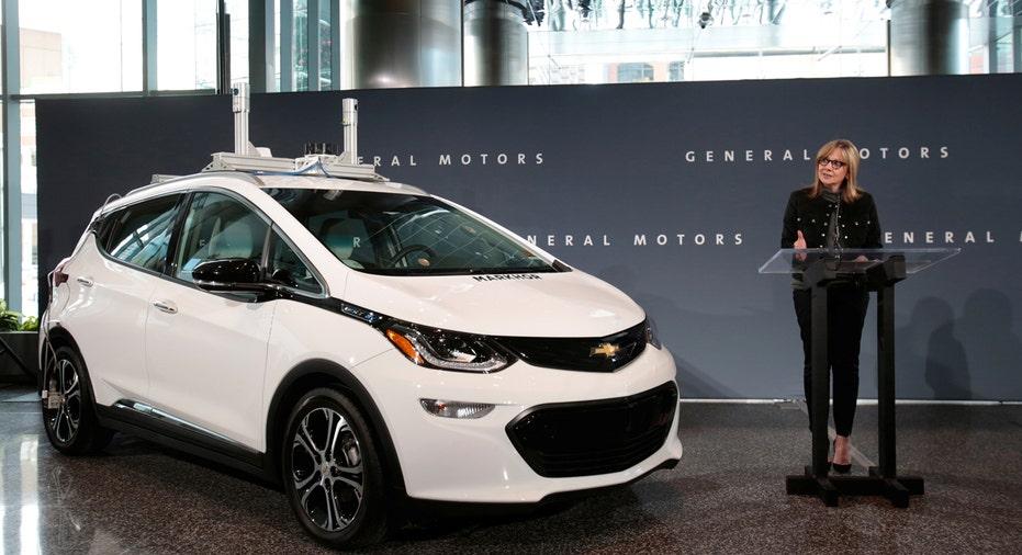 GM Chevrolet Bolt self-driving autonomous Mary Barra  FBN