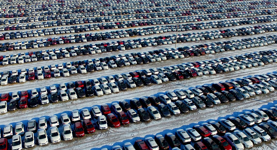 China new cars, car lot FBN