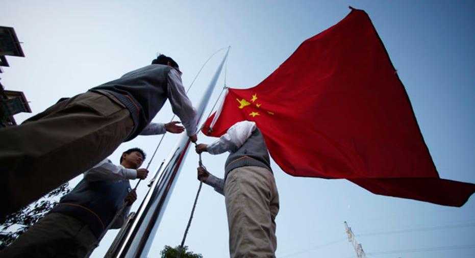 Chinese flag, china flag, china