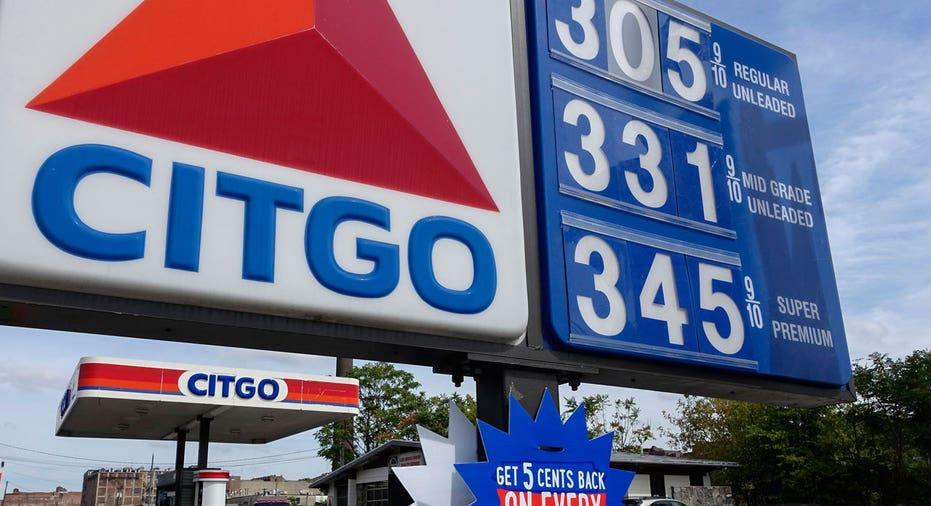 Citgo gas station sign FBN