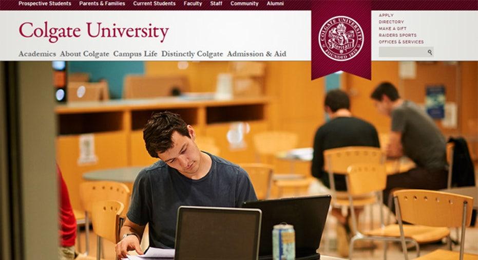 colgate university site