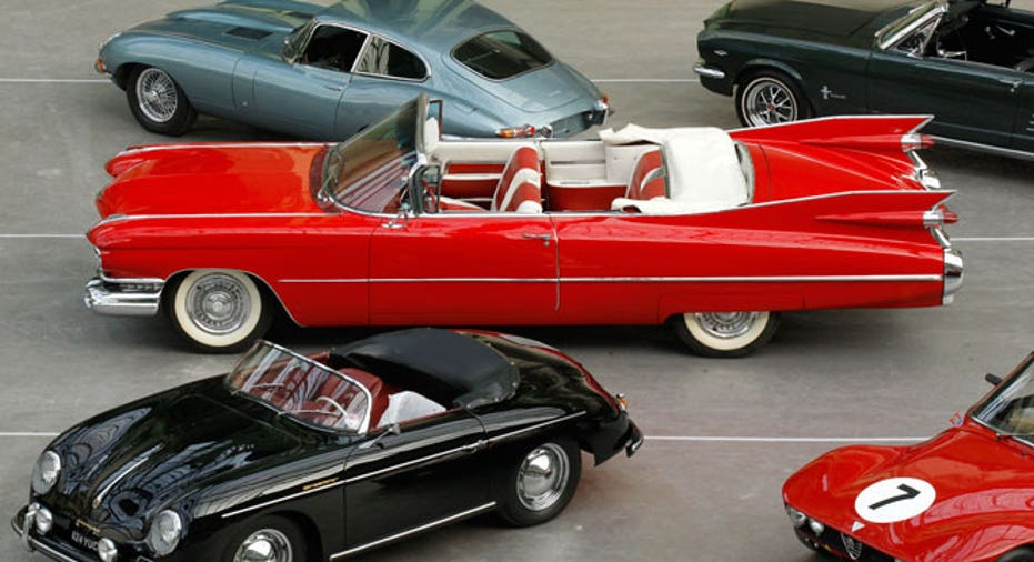 collectible cars, PF slideshow
