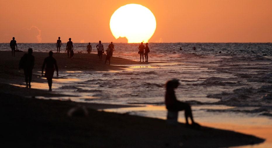 cuba beach, vacation, summer