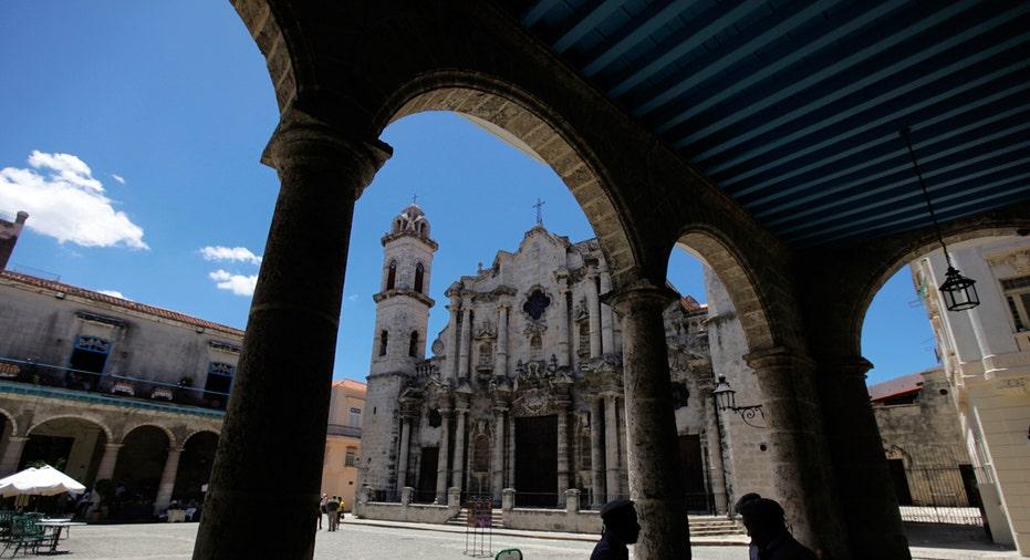 Cuba, Havana 18th century Cathedral