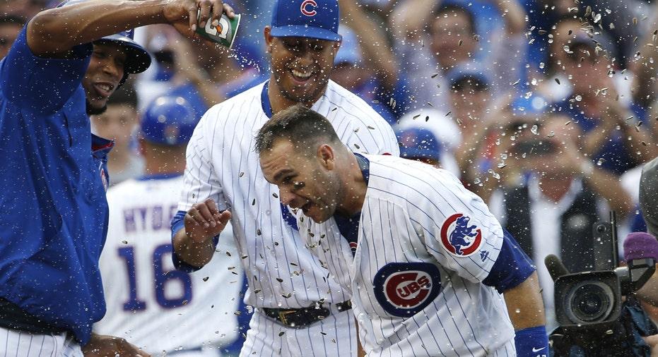 Chicago Cubs celebrate FBN