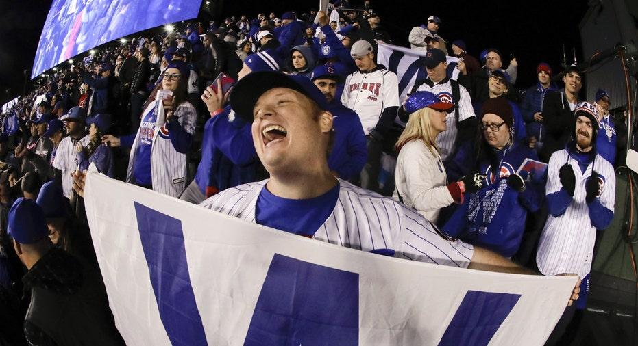 Cubs fans World Series FBN