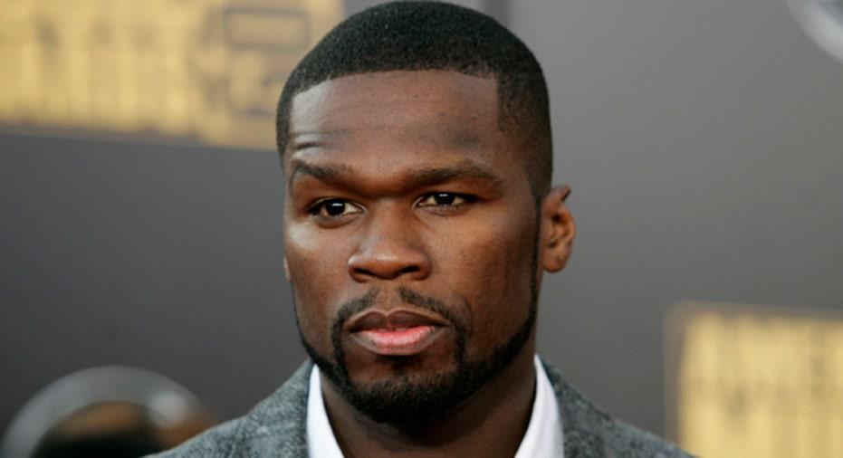 Rapper 50-Cent