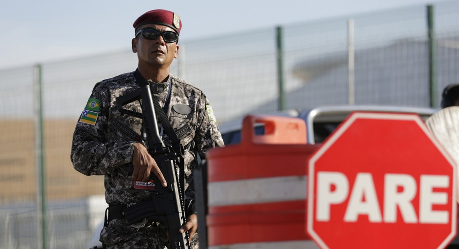Rio Olympics Police