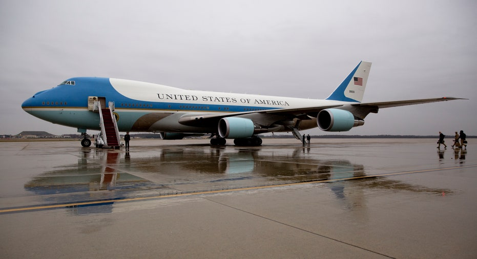 Air Force One on tarmac FBN
