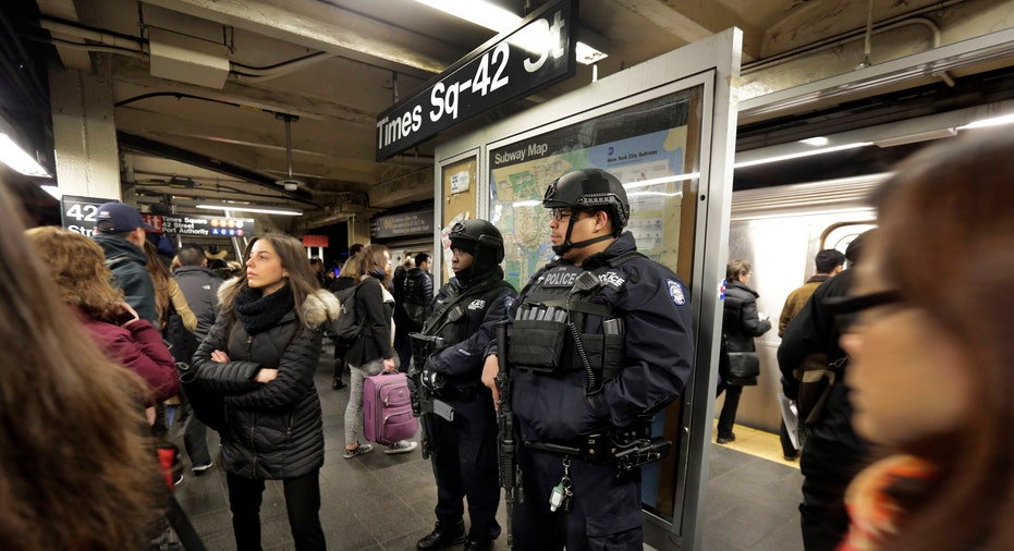 New York police security subway FBN