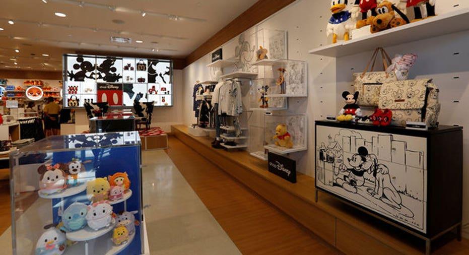 Disney Store REUTERS/Mario Anzuoni
