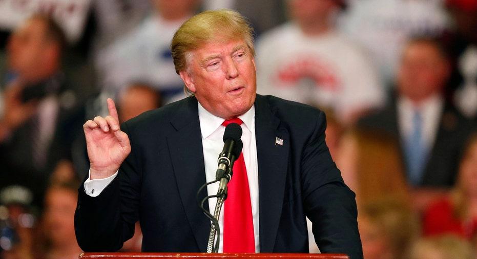 Donald Trump Talking FBN