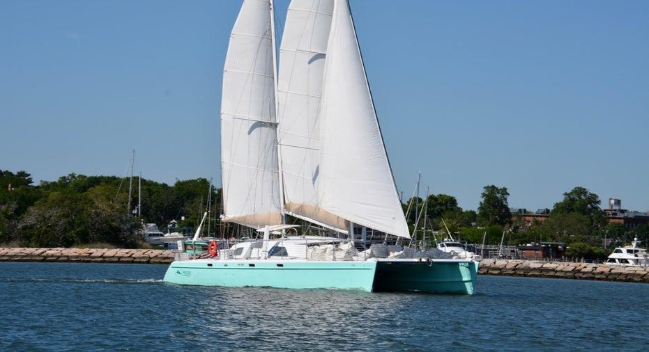 Luxury Catamaran in Sag Harbor