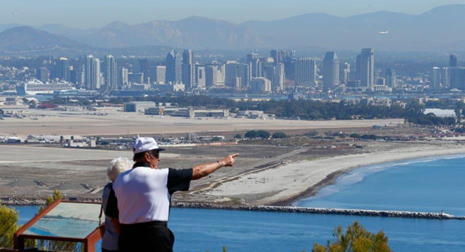 San Diego, retirement, couple, retiree