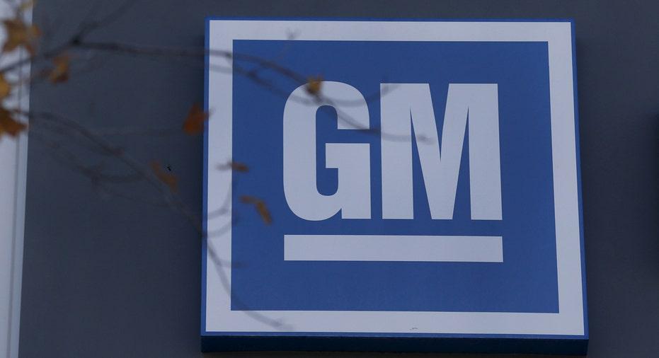 General Motors GM logo FBN