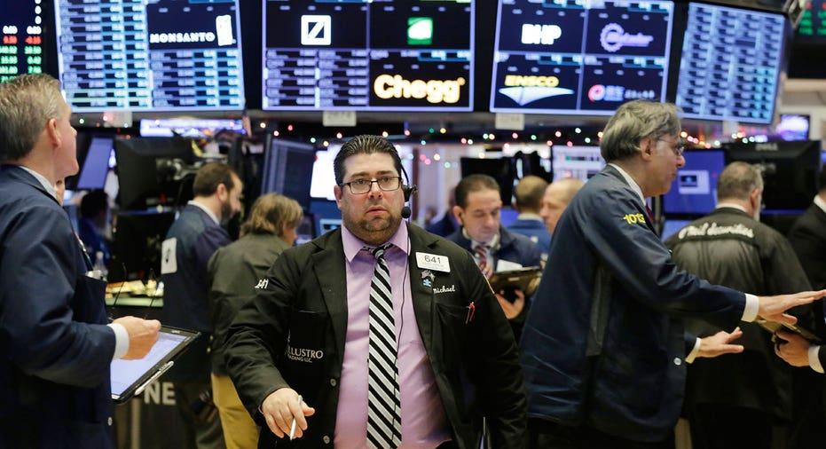 NYSE trader walking AP FBN