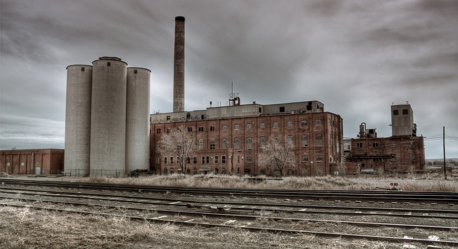 abandoned factory istock