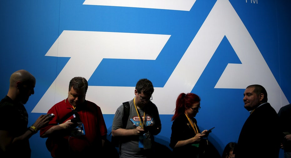 ELECTRONIC ARTS-RESULTS/